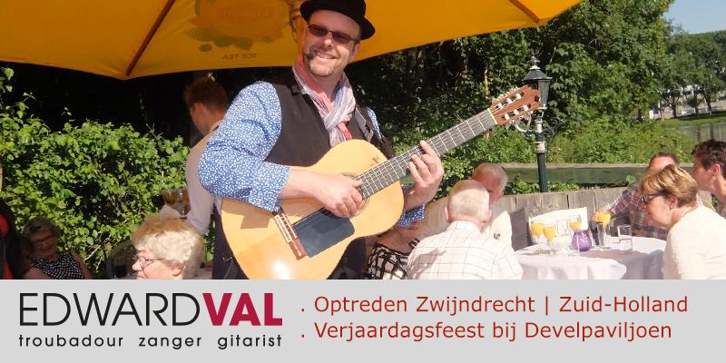 Zwijndrecht-Verjaardagsfeest-bij-Develpaviljoen-Akoestische-live-achtergrondmuziek-Troubadour-Zuid-Holland-Optreden-boeken-zanger-gitarist-Leuke-liedjeszanger-Muzikant-Nijkerk