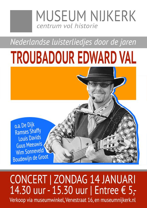 Concert Edward Val 2018 | Museum Nijkerk