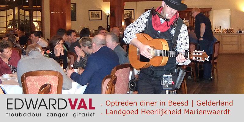 Beesd-Landgoed-Marienwaerdt-One-man-band-boeken-Troubadour-zanger-gitarist-inhuren-Sfeervolle-live-achtergrondmuziek-Bedrijfsfeest-diner-buffet-Live-muziek-Gelderland