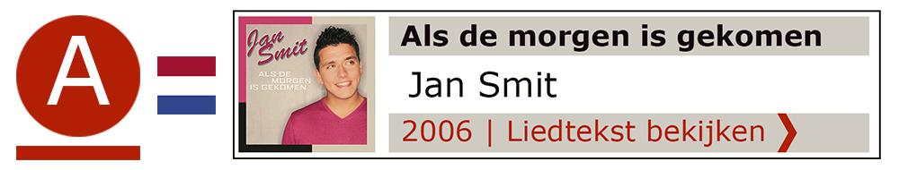 Als de morgen Jan Smit | Zanger gitarist troubadour Edward Val boeken | Liedtekst Sing Along | karaoke Feest
