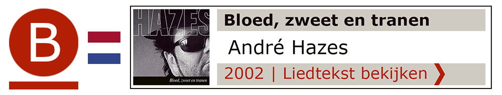 Bloed zweet tranen Andre Hazes | Zanger gitarist troubadour Edward Val boeken | Liedtekst Sing Along | karaoke Feest