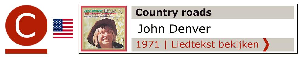 Country roads John Denver | Zanger gitarist troubadour Edward Val boeken | Liedtekst Sing Along | karaoke Feest