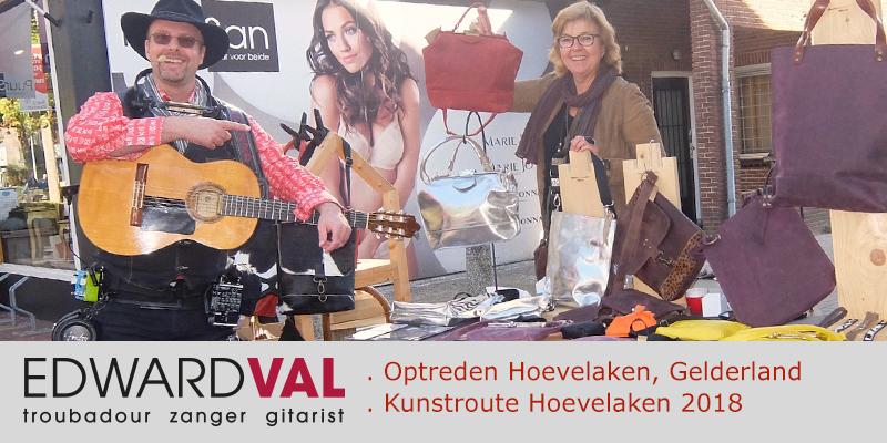 Kunstroute-Hoevelaken-2018-Mobiele-live-muziek-Improvisatie-straattheater-boeken-Troubadour-Edward-Val-Nijkerk-Rondlopende-muzikant-inhuren-0