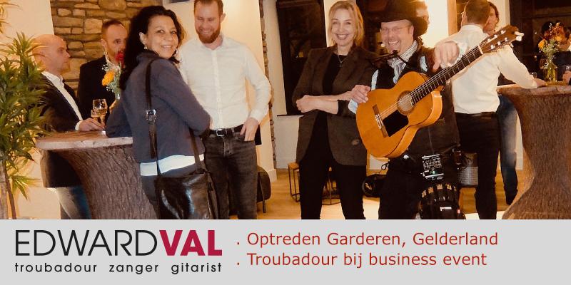 Optreden-Garderen-bedrijfsfeest-markering-event-Troubadour-Edward-Val-Mobiele-live-muziek-inhuren-Veluwe-Gelderland