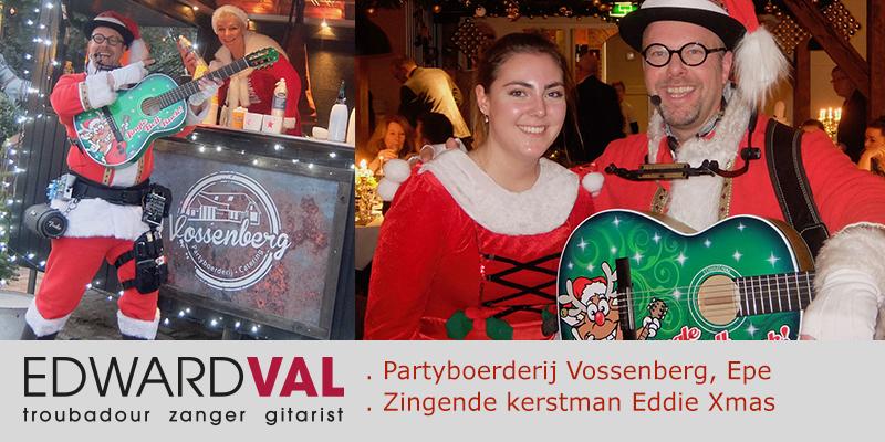 Zorggroep Amaris Naarden Vossenberg Epe Kerstmarkt kerstborrel zingende kerstman senioren dementie ouderen
