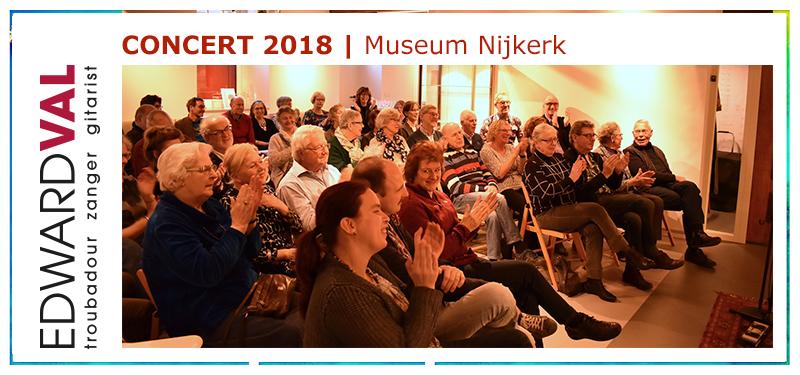 Concert Edward Val | Museum Nijkerk | Optreden 2018