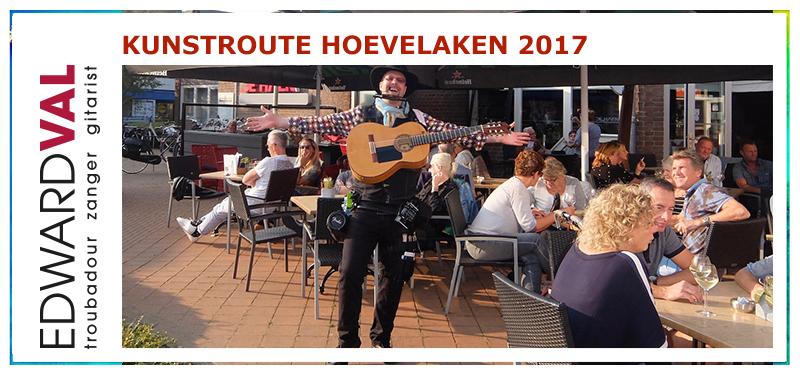 Kunstroute 2017 | Troubadour Edward Val Grand Cafe De Haen Bilderberg Hotel Artistiek beeldhouwer fotograaf schilder muzikant expositie