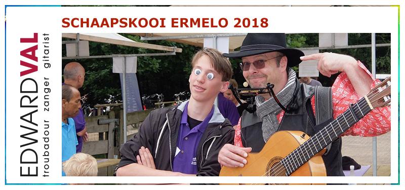 Schaapskooi Ermelo   Leuke Troubadour-Edward-Val-Optreden-Schaapscheerdersfeest-2018-Gezellig Persoonlijke-liedjes-op-maat-Muzikale-kinderranimatie
