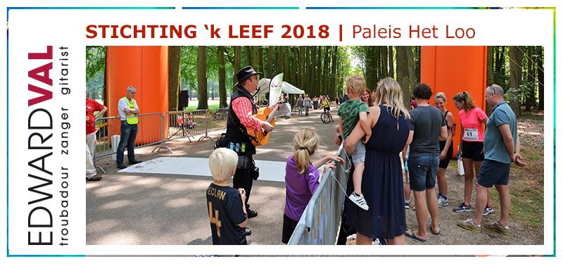 'kLEEF Run wordt jaarlijks gehouden op het voorterrein van Paleis Het Loo en in het Kroondomein Het Loo