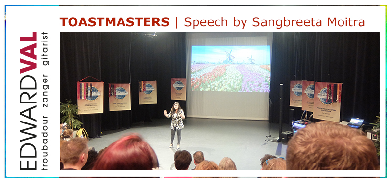 Troubadour Entertainer Energizer Edward Val | Toastmasters Division C Conference 2019 Hilversum Theater Santbergen | Key note speaker Sangbreeta Moitra.jpg