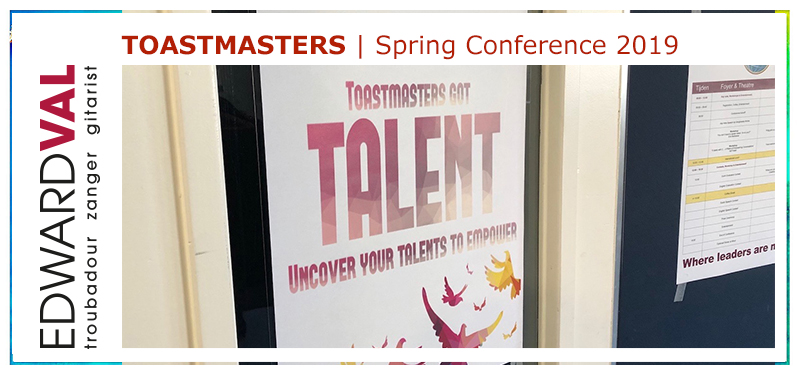 Songwriter composer Entertainer Energizer Edward Val | Motivator Toastmasters Division C Conference 2019 Hilversum Theater Santbergen | Toastmasters Boogie Song | 02.jpg