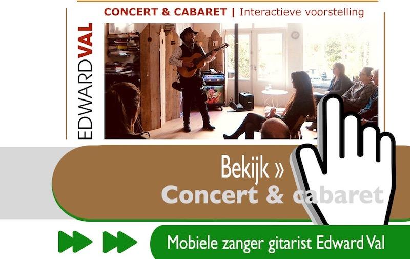 troubadour edward val concert cabaretier cabaret huiskamerconcert voorstelling luisterliedjes