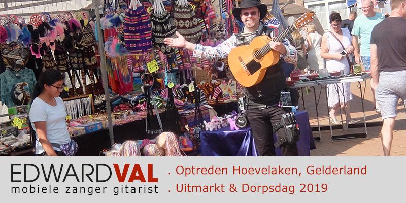 Hoevelaken dorpsdag uitmarkt bieb sigma opening seizoen braderie markt mobiel entertaiment troubadour edward val nijkerk | 00