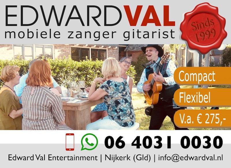 Verschillen troubadours muzikant kiezen zanger gitarist edward val boeken advies tips kwaliteit betrouwbare artiest inhuren verjaardag bedrijfsuitje personeel event