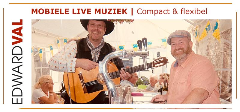 Mobiele-zanger-gitarist-troubadour-Edward-Val-Nijkerk-Feest-Breda-Brabant-Huwelijksjubileum-familiefeest-huiskamer-optreden-entertainment-Gelderland-boeken