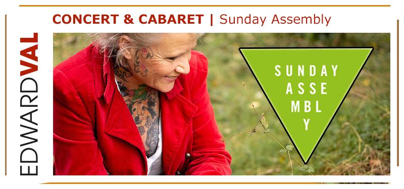 sunday assembly concert voorstelling gabrielle jansen filosofie edward val