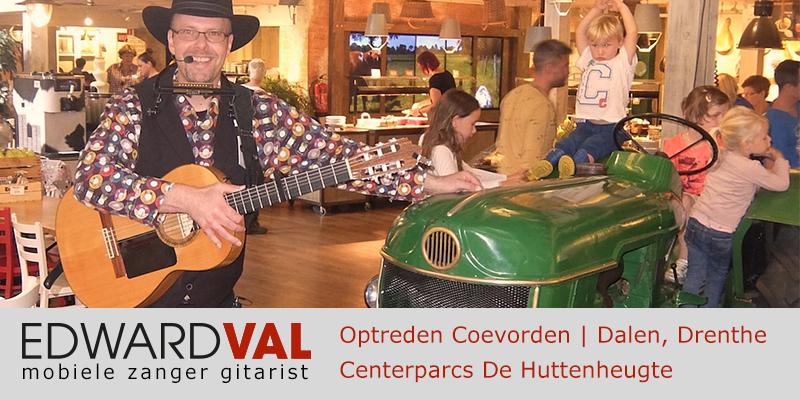 Drenthe | Coevorden trouwjubileum Optreden troubadour inhuren bedrijfsuitje event zanger gitarist Edward Val familie feest boeken