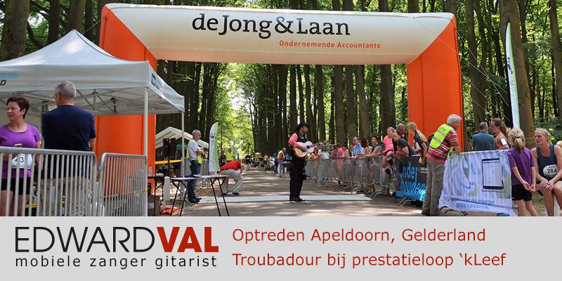 Gelderland | Apeldoorn Kleef loo trouwjubileum Optreden troubadour inhuren bedrijfsuitje zanger gitarist Edward Val familie feest boeken