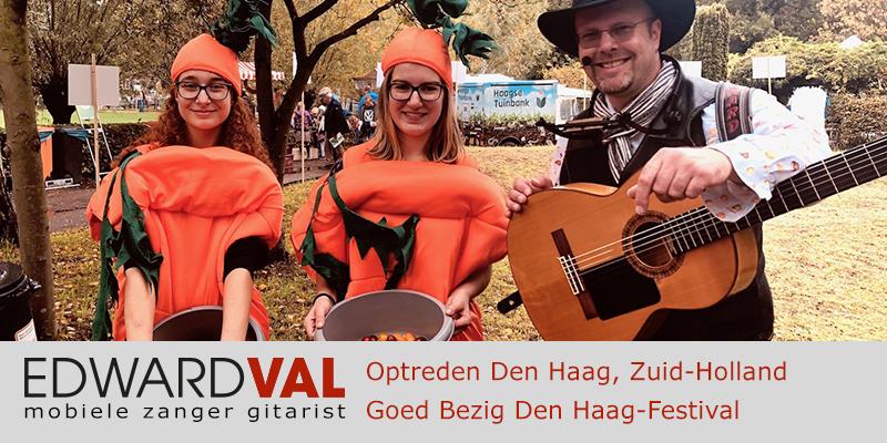 Den Haag goed bezig duurzaamheid food truck festival Zuiderpark troubadour edward val mobiele live muziek kids entertainment kinderboerderij
