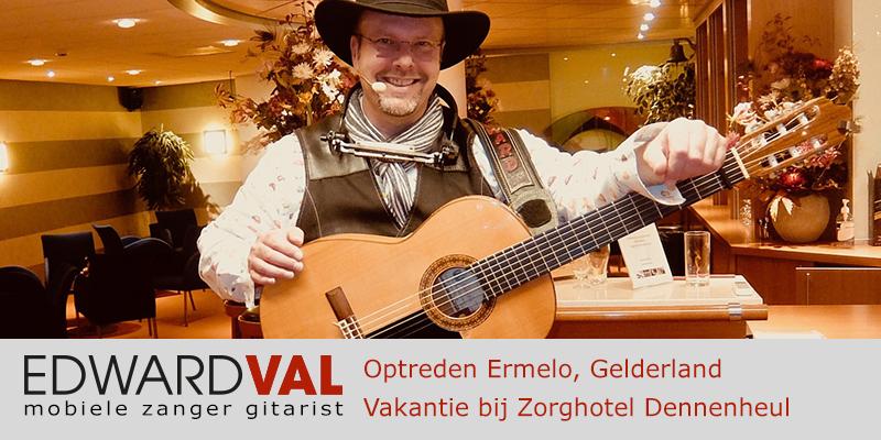 Ermelo Zorghotel Dennenheul Rode Kruis Oisterwijk Troubadour Edward Val mobiele live muziek senioren ouderen liedjes van toen | Uit oude doos