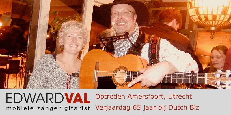 Optreden Amersfoort Dutch Biz | Verjaardag 65 | Troubadour Edward Val Nijkerk | 00