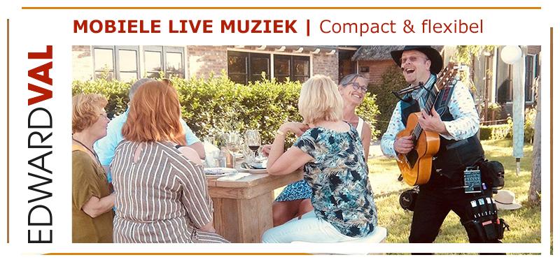wijnproeverij fees -Edward-Val-Barneveld-Gelderland-tuinfeest-huwelijksjubileum-familiefeest-troubadour-inhuren-rondlopende-muzikale-act-1