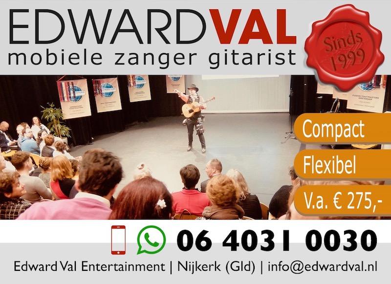 energizer troubadour edward val motivatie warming up congres conferentie