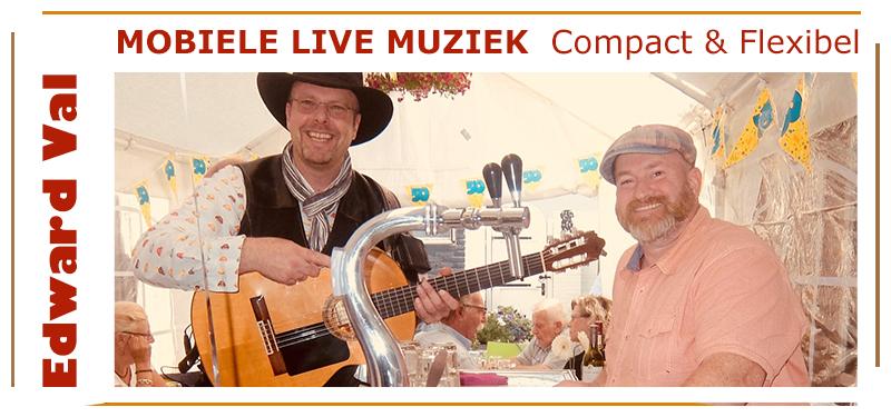 mobiele zanger familiefeest huwelijksjubileum verjaardag troubadour gitarist edward val gezellig sfeer rustig utrecht feest gelderland bedrijfsuitje